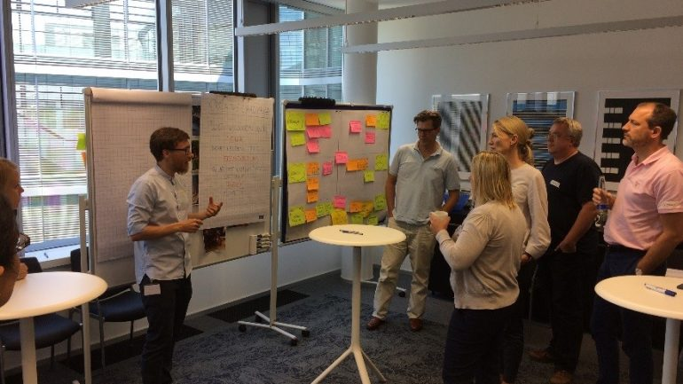 Design Thinking bei der Swiss Re