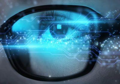 """Digitales Auge als Metapher für den Artikel """"LSIs LSI-SREP Aufsichtlicher Überprüfungs- und Bewertungsprozess"""""""