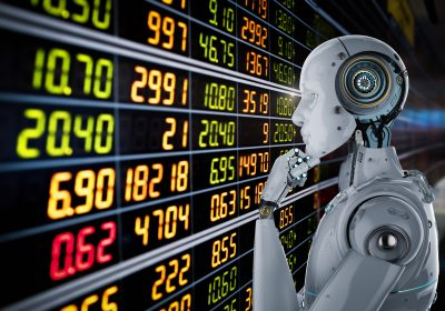 3d Rendering Roboter als Metapher für kognitive Systeme