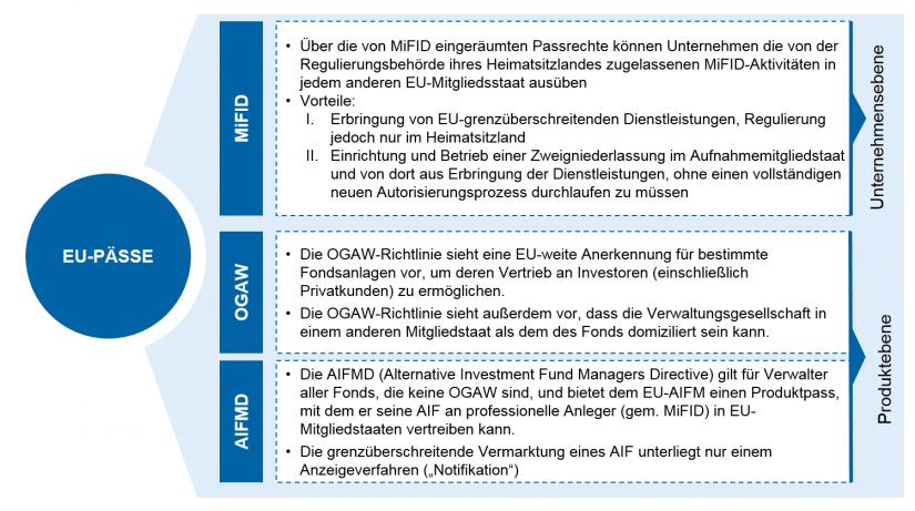 Darstellung des Überblicks über die EU-Passrechte
