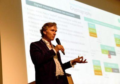 Bild von Michael Reuter – den Gesprächspartner zum Thema Blockchain – Banking and Beyond