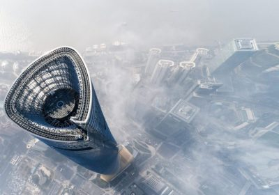 """Shanghai Skyline als Metapher für """"Asset management – the discomfort zone"""""""