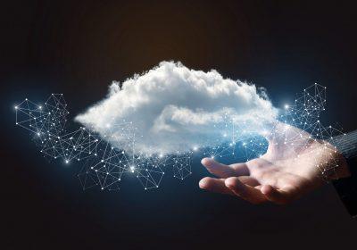 Bild einer Datenwolke zu PSD2 ist erst der Anfang / BankingHub
