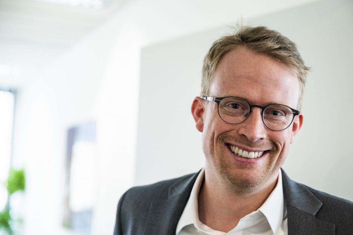 Bild des CFO Fabian Brügmann der creditshelf / BankingHub