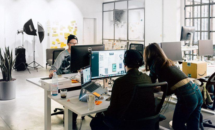 Office von Neugelb / BankingHub