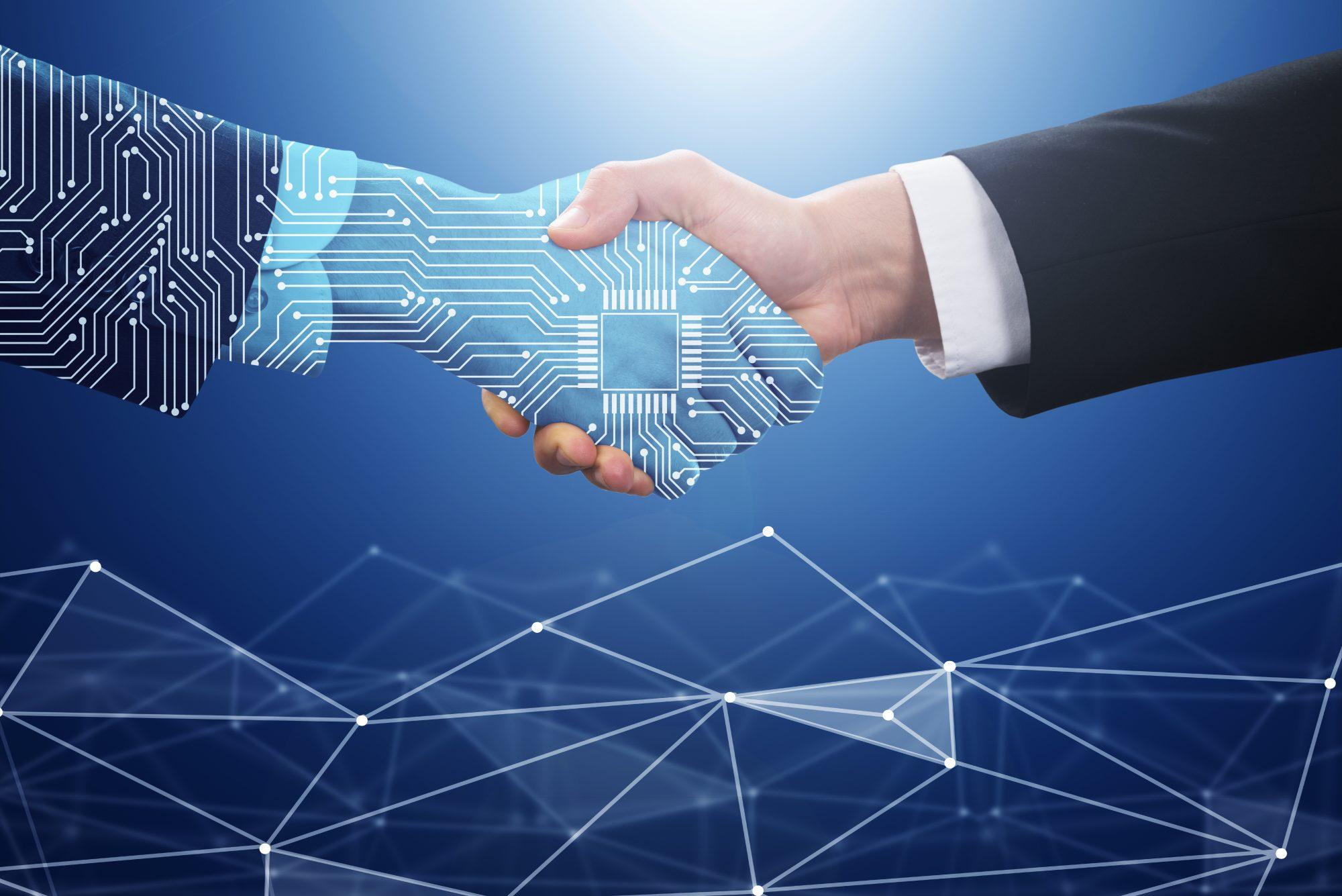Titelbild zu KI in der Prozessautomatisierung – Intelligente Automatisierung / BankingHub