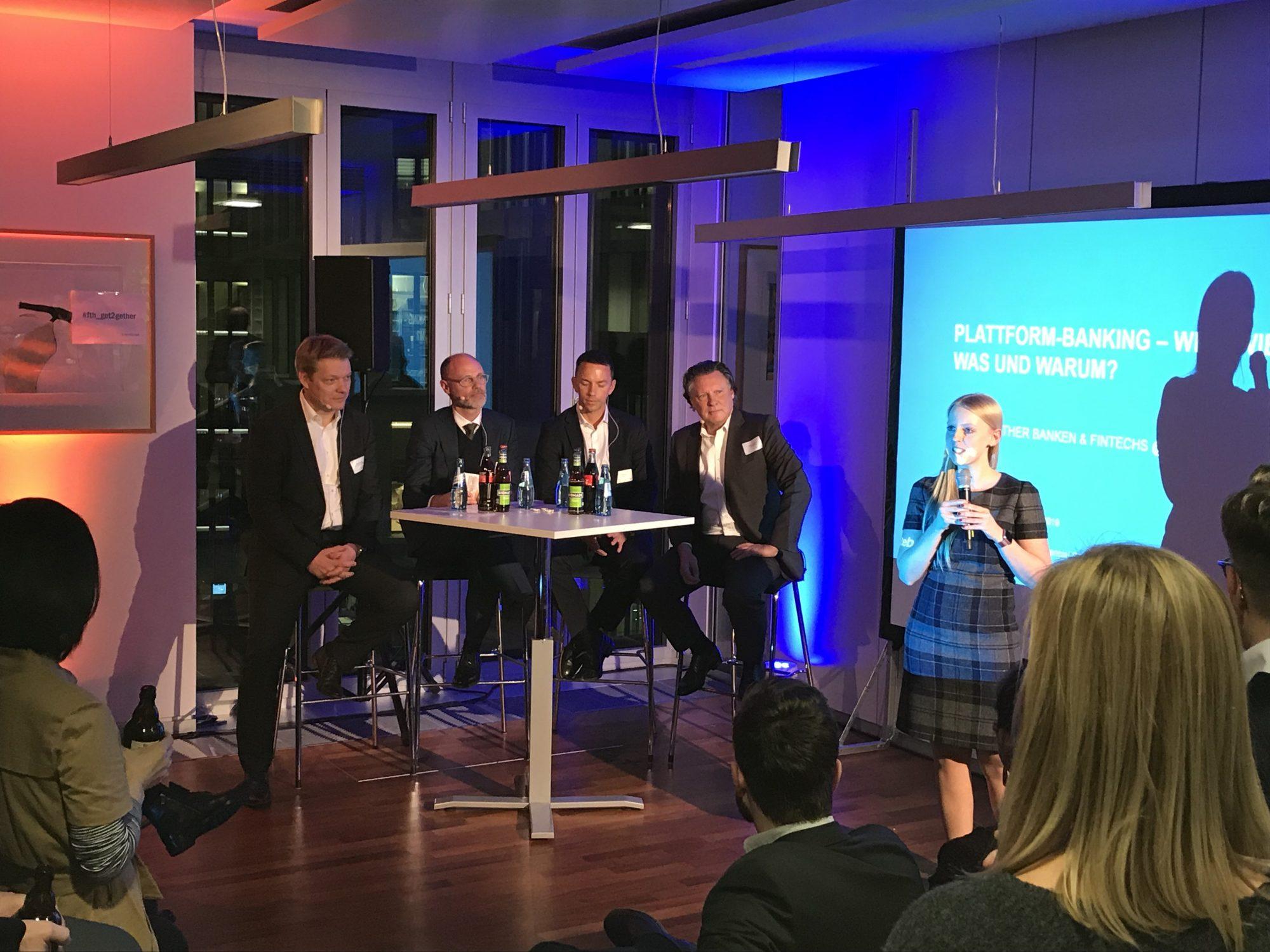 Networking powered by Fintech Hub – 7. Get Together für Banken und Fintechs / BankingHub