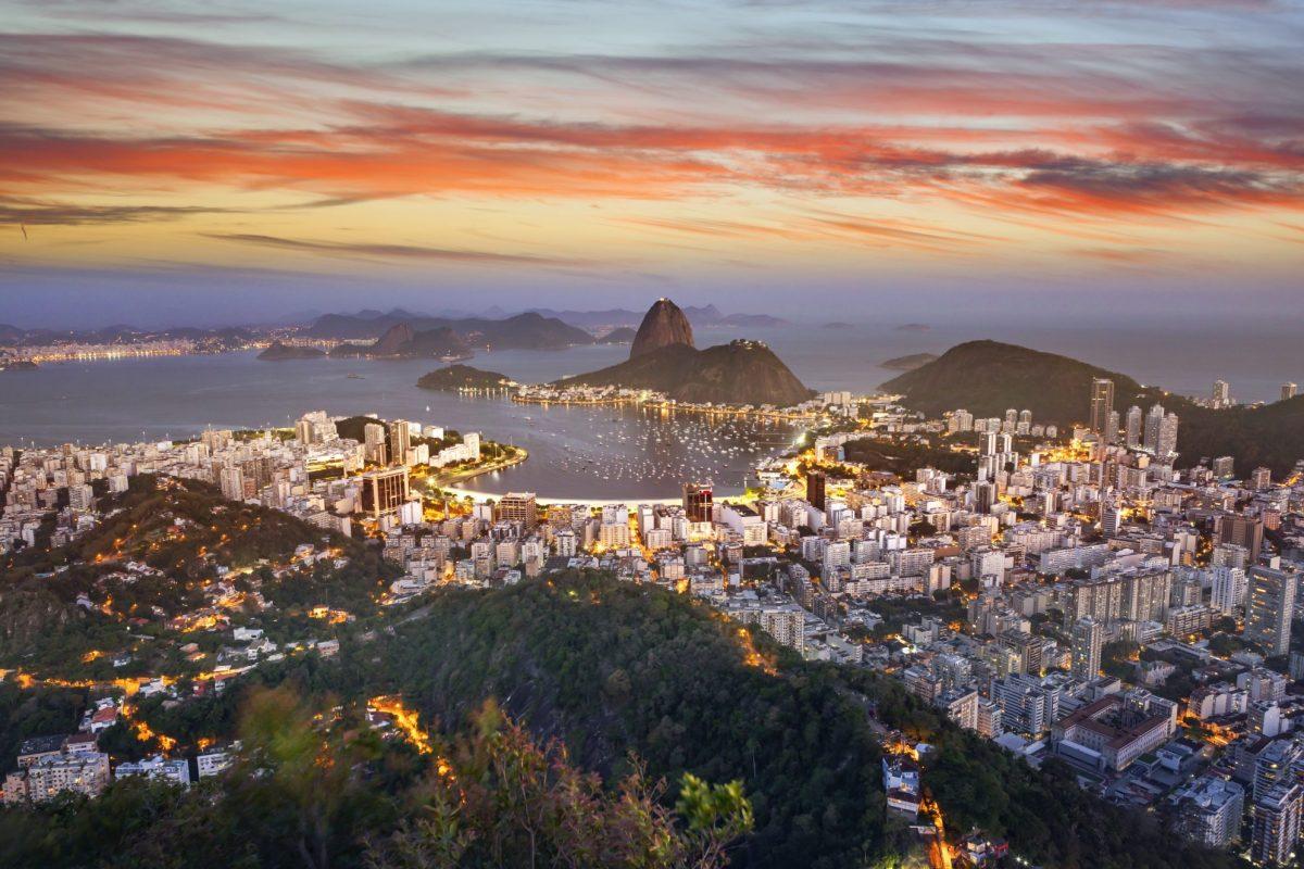 Blick auf Rio de Janeiro in Brasilien   Payment-Oekosystem / BankingHub