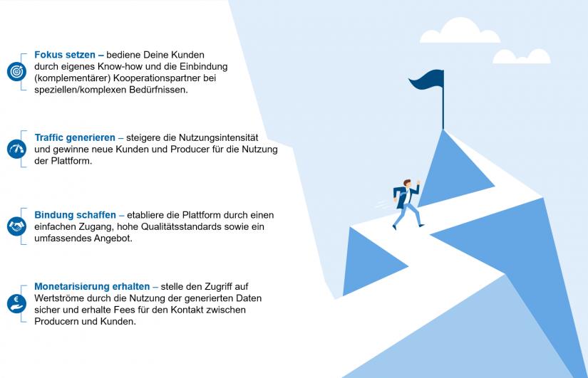 """Erfolgsfaktoren Plattformen in """"Plattformen – Definition und Empfehlungen"""""""