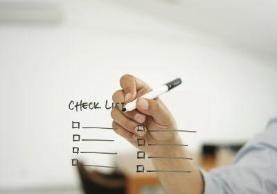 """Checkliste als Metapher für Artikel """"Checkliste Data Science als strategisches Projekt"""""""