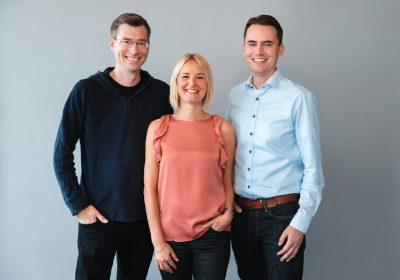 """Management-Team von Joonko als Beitragsbild des Artikels """"Finleap-FinTech Joonko als neuer Herausforderer für Kreditvergleichsportale"""""""