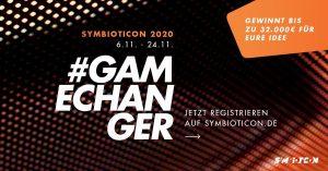 Titelbild Symbioticon 2020 #Gamechanger
