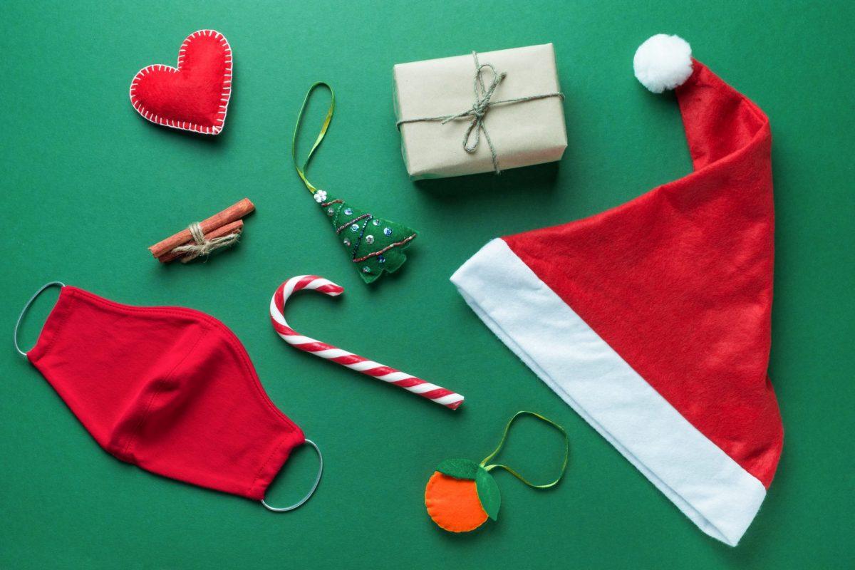 """Corona-Weihnachts-Essentials als Metapher für den Weihnachtsartikel """"7 informative Jahre BankingHub und noch immer mit Leidenschaft am Puls der Zeit"""""""