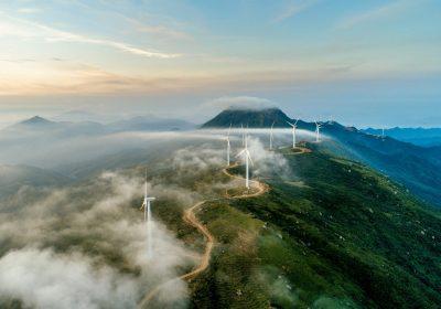 Windanlage als Metapher für: Corporate Social Responsibility: Es gibt noch viel zu tun
