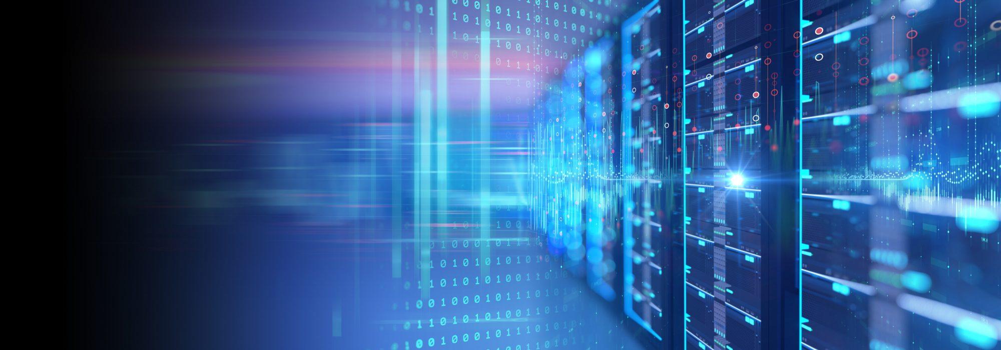 """Datenserver als Metapher für """"Cloud-Banking – Vorteile und Anforderungen bei der Implementierung"""""""