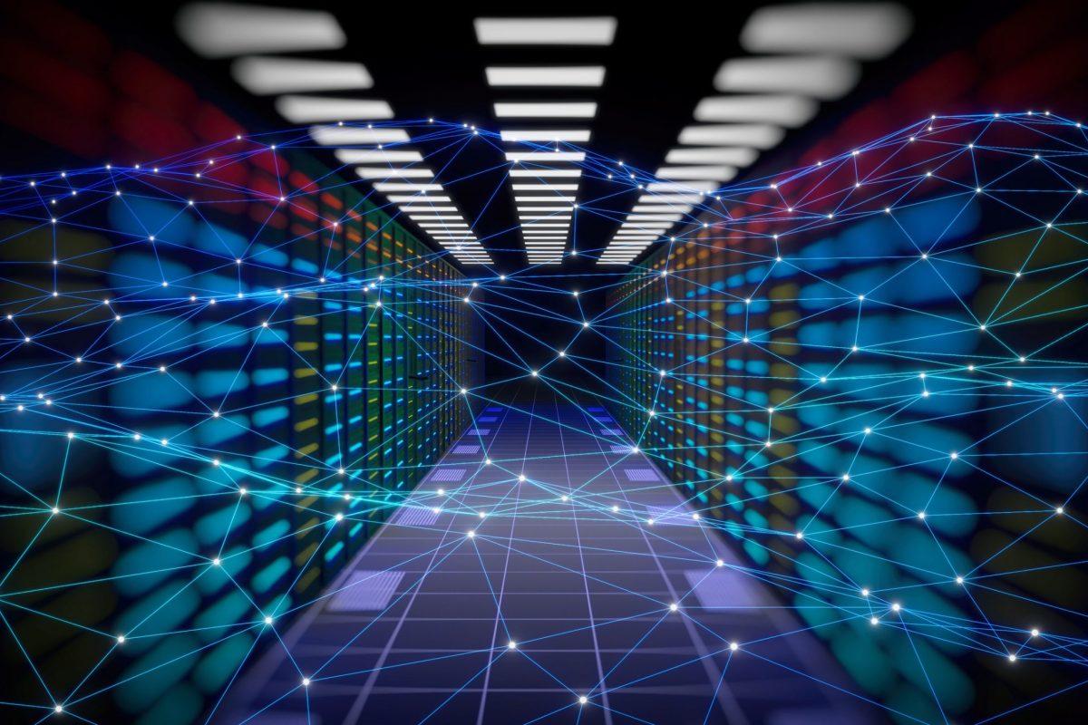 """Server als Metapher für den Artikel """"Blockchain in der Finanzbranche: Drei konkrete Anwendungsszenarien"""""""